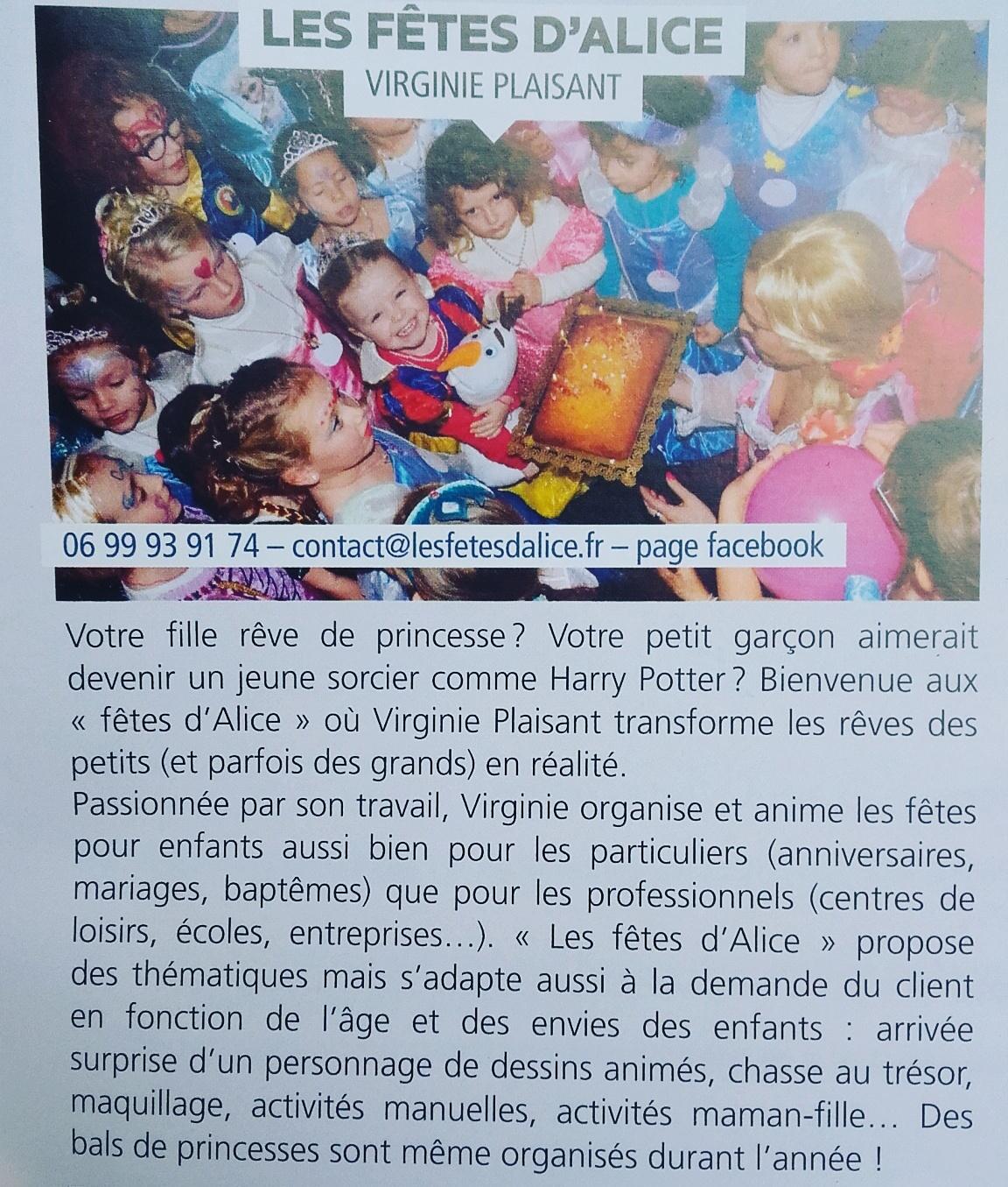 05/2017 - Un petit article paru dans le magazine IMAGES DE MARCQ